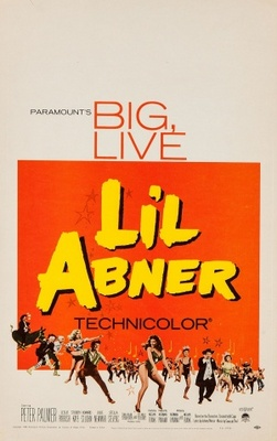 Li'l Abner movie poster (1959) poster MOV_1a00decc