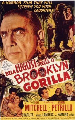 Bela Lugosi Meets a Brooklyn Gorilla movie poster (1952) poster MOV_1a026745