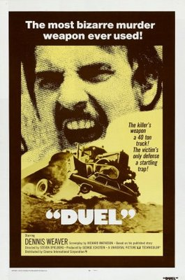 Duel movie poster (1971) poster MOV_1a0eed7a