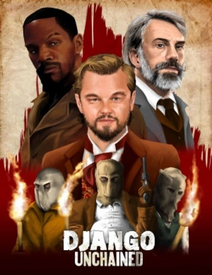 Django Unchained movie poster (2012) poster MOV_1a101f76