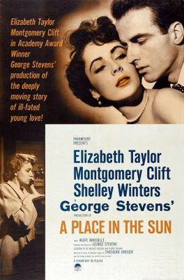 A Place in the Sun movie poster (1951) poster MOV_1a18349d
