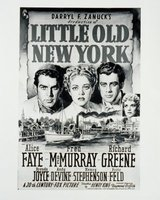 Little Old New York movie poster (1940) picture MOV_1a286589