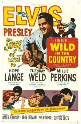 Wild in the Country movie poster (1961) poster MOV_1a2ca6bb