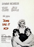 Some Like It Hot movie poster (1959) picture MOV_1a3a9099