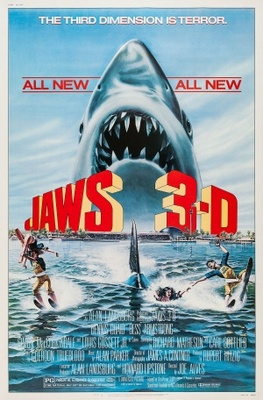 Jaws 3D movie poster (1983) poster MOV_1a42e180