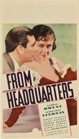 From Headquarters movie poster (1933) picture MOV_1a804178