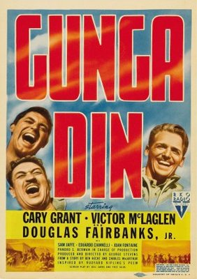 Gunga Din movie poster (1939) poster MOV_1a8ecae1