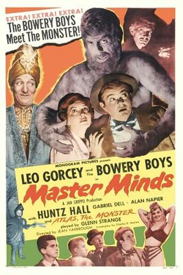 Master Minds movie poster (1949) poster MOV_1ab3a375