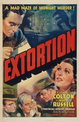 Extortion movie poster (1938) poster MOV_1ac574ae