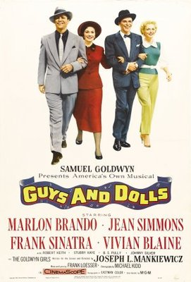 Guys and Dolls movie poster (1955) poster MOV_1ac776a5