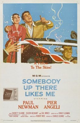 Somebody Up There Likes Me movie poster (1956) poster MOV_1ad21f5f