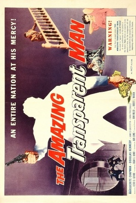 The Amazing Transparent Man movie poster (1960) poster MOV_1adcd311