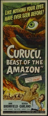 Curucu, Beast of the Amazon movie poster (1956) poster MOV_1ae288f3