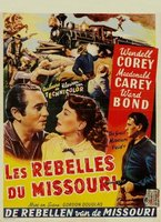 The Great Missouri Raid movie poster (1951) picture MOV_1aedf222
