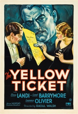 The Yellow Ticket movie poster (1931) poster MOV_1affec5e
