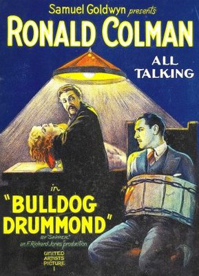 Bulldog Drummond movie poster (1929) poster MOV_1b0217d7