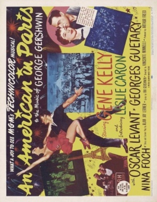 An American in Paris movie poster (1951) poster MOV_1b09d865