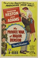 The Private War of Major Benson movie poster (1955) picture MOV_1b1301cb