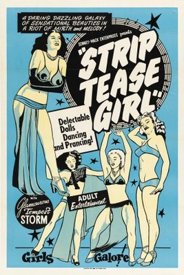 Striptease Girl movie poster (1952) poster MOV_1b1a7f1e