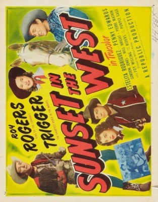 Sunset in the West movie poster (1950) poster MOV_1b2a61aa