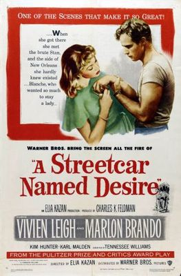 A Streetcar Named Desire movie poster (1951) poster MOV_1b2d1042