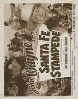 Santa Fe Stampede movie poster (1938) picture MOV_1b3eb91d