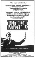 The Times of Harvey Milk movie poster (1984) picture MOV_1b3ef82e