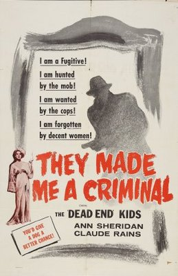 They Made Me a Criminal movie poster (1939) poster MOV_1b544638