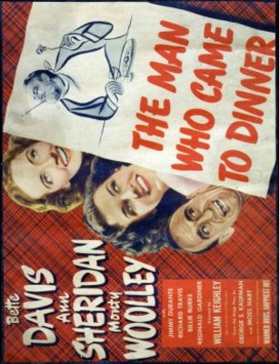 The Man Who Came to Dinner movie poster (1942) poster MOV_1b634d28