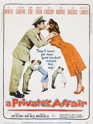 A Private's Affair movie poster (1959) poster MOV_1b657f48