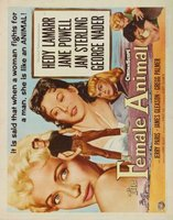 The Female Animal movie poster (1958) picture MOV_1b696243