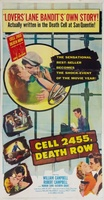 Cell 2455 Death Row movie poster (1955) picture MOV_1b7a6d06