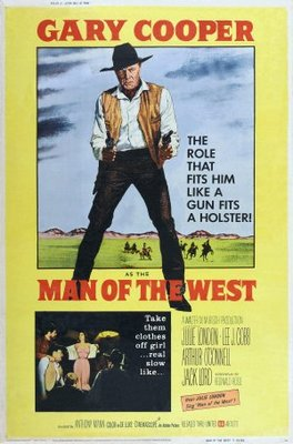 Man of the West movie poster (1958) poster MOV_1b92424a