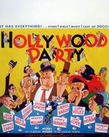 Hollywood Party movie poster (1934) picture MOV_1b9e5ffd