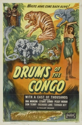 Drums of the Congo movie poster (1942) poster MOV_1bb96708