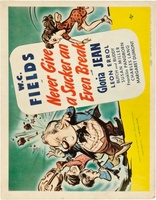 Never Give a Sucker an Even Break movie poster (1941) picture MOV_1bc9c3ed