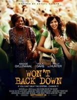 Won't Back Down movie poster (2012) picture MOV_1be19c06