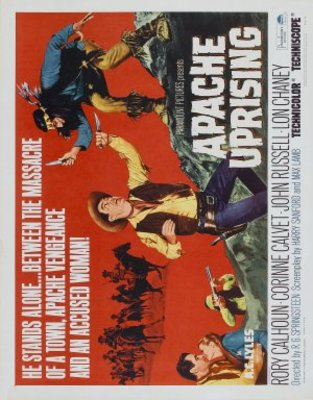 Apache Uprising movie poster (1966) poster MOV_1bed69d3