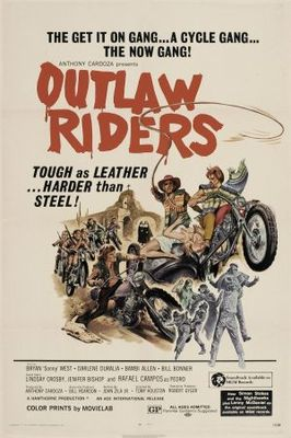 Outlaw Riders movie poster (1971) poster MOV_1bf5c308