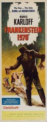 Frankenstein - 1970 movie poster (1958) poster MOV_1bfd25de