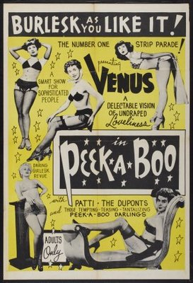 Peek a Boo movie poster (1953) poster MOV_1bfe8b83