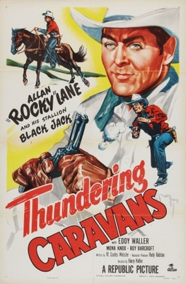 Thundering Caravans movie poster (1952) poster MOV_1c07b8ee