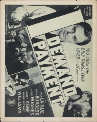I Demand Payment movie poster (1938) poster MOV_1c122ee8
