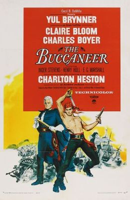 The Buccaneer movie poster (1958) poster MOV_1c2d3279
