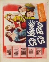 So Young So Bad movie poster (1950) picture MOV_1c3214d8