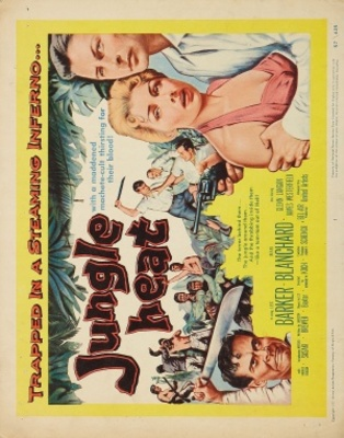 Jungle Heat movie poster (1957) poster MOV_1c363cb8