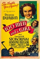 One Hundred Men and a Girl movie poster (1937) picture MOV_1c47c5af