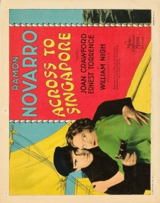 Across to Singapore movie poster (1928) poster MOV_1c49522c