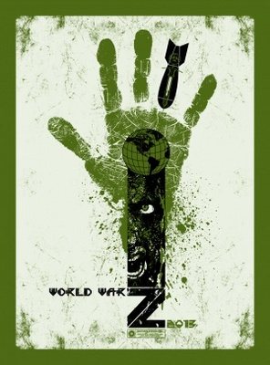 World War Z movie poster (2013) poster MOV_1c5c83be