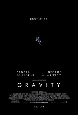 Gravity movie poster (2013) poster MOV_1c5e48cb
